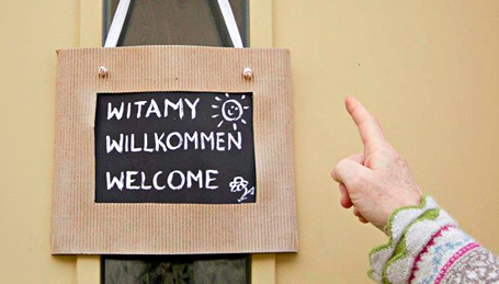 Day Three – Welcome in Polish, German, and English