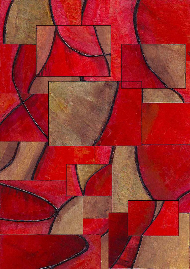 Composition Sahara woman