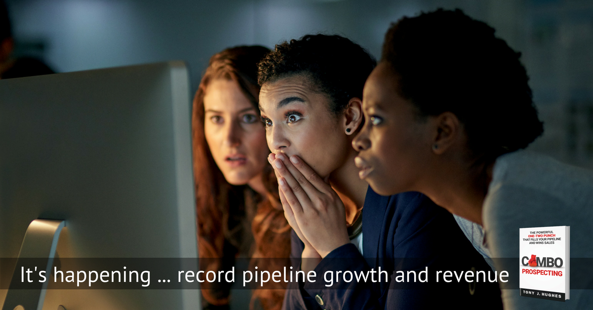 Recird sales growth