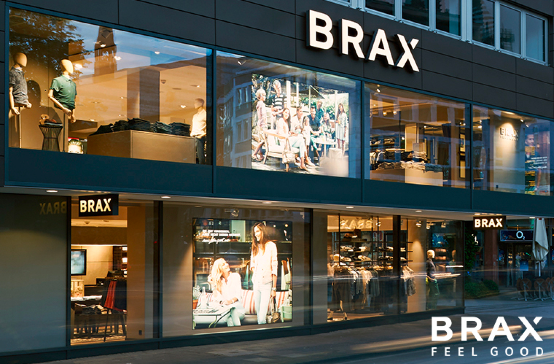 Brax, Fashion Retailer, Visual Merchandising