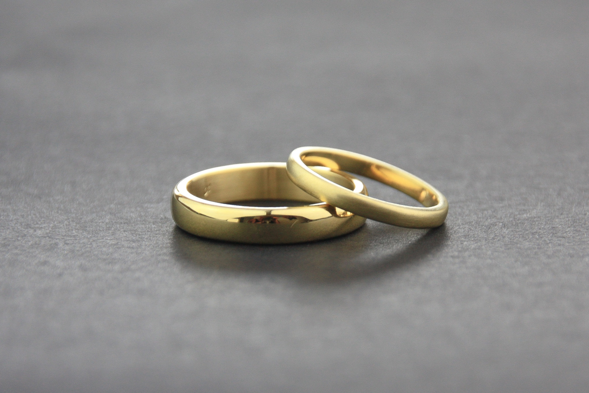 Leonie Simpson Jewellery wedding bands gold