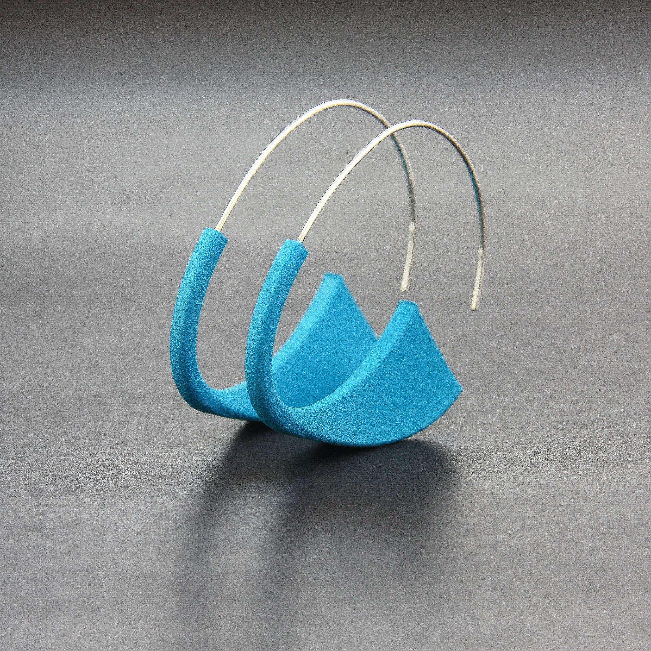 Leonie Simpson Jewellery Suki Earrings Aqua