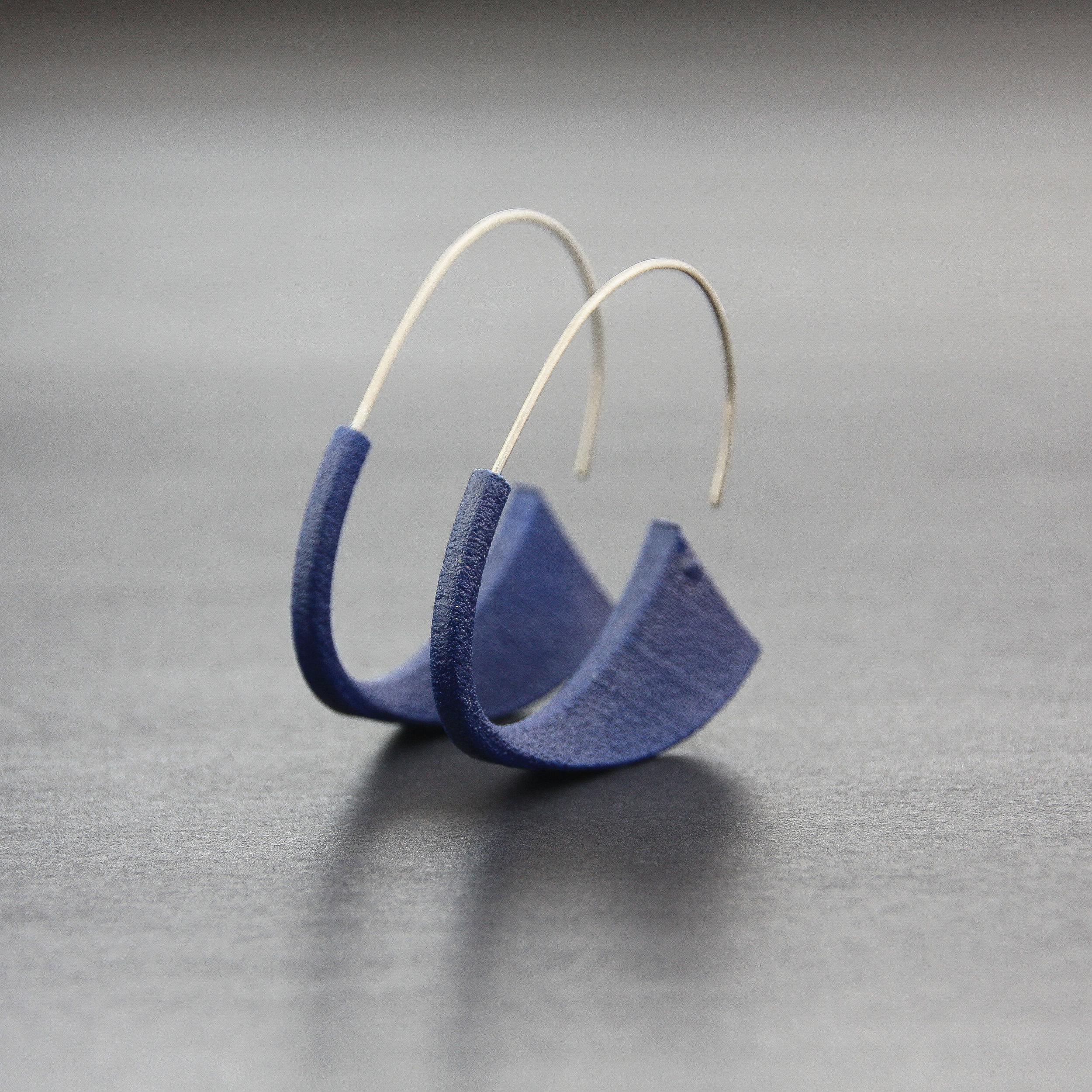 Leonie Simpson Jewellery Suki Earrings navy