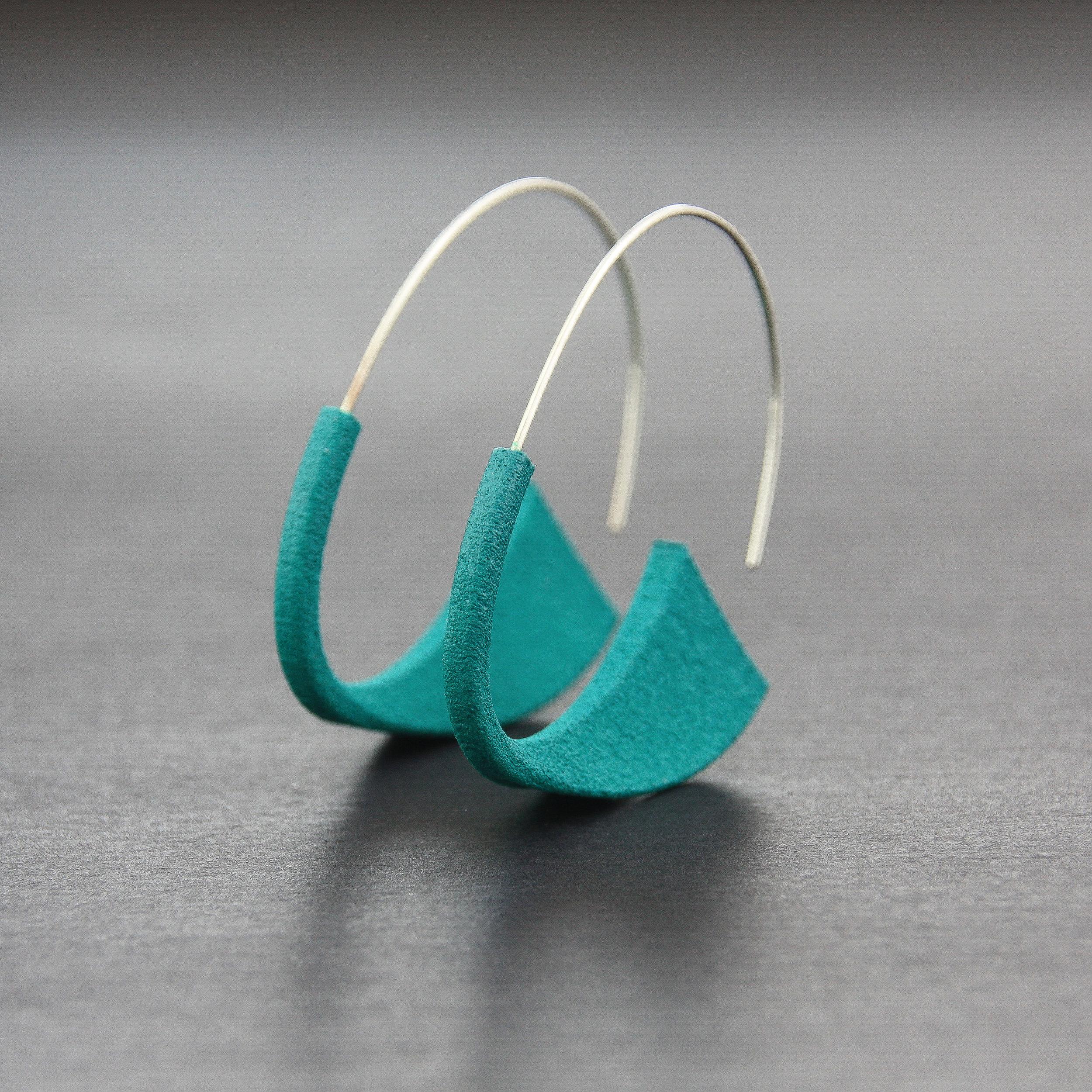 Leonie Simpson Jewellery Suki Earrings Teal