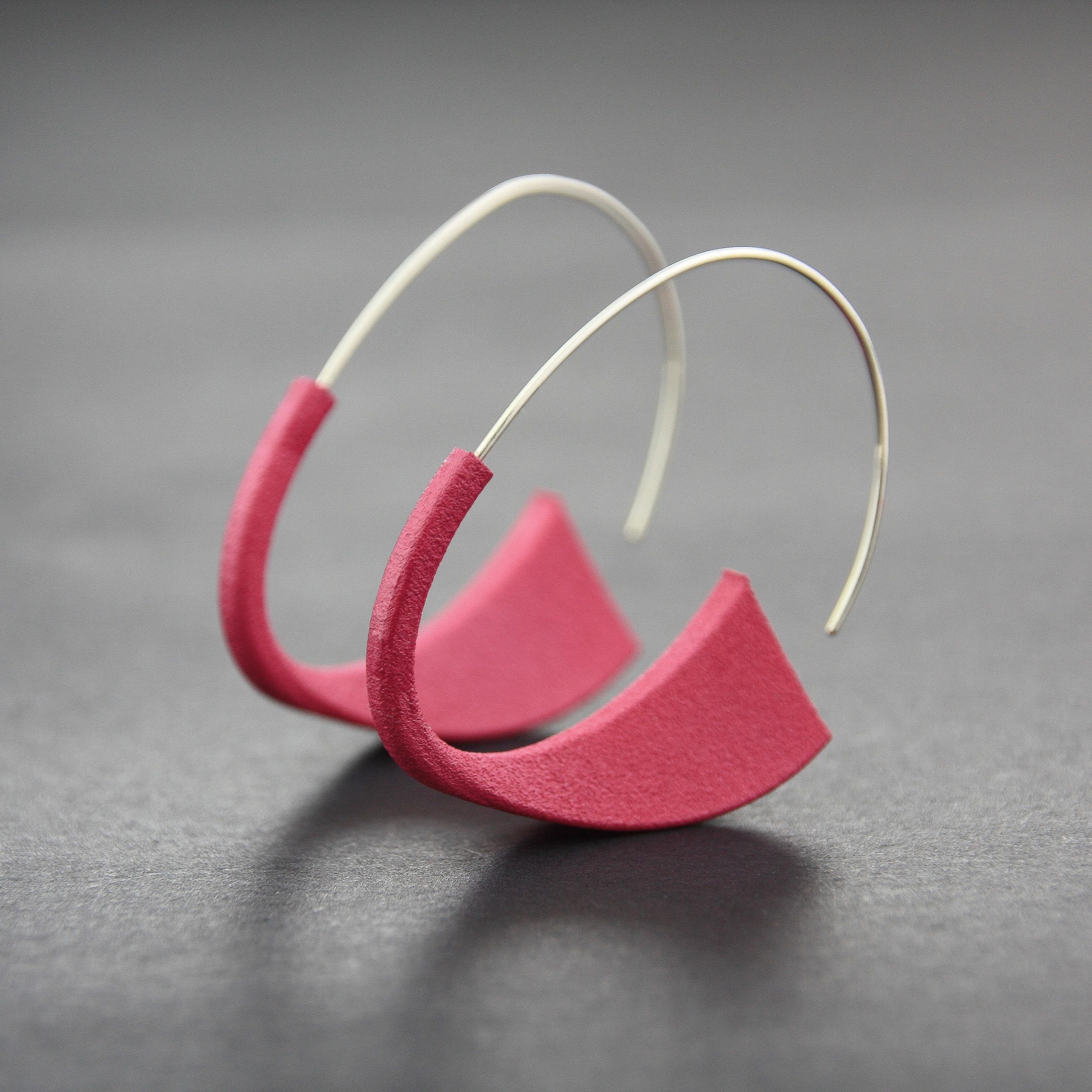 Leonie Simpson Jewellery Suki Earrings pink