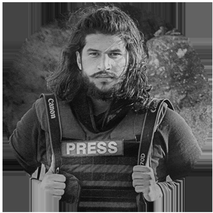 Hosam Katan – Syrian War Journalist