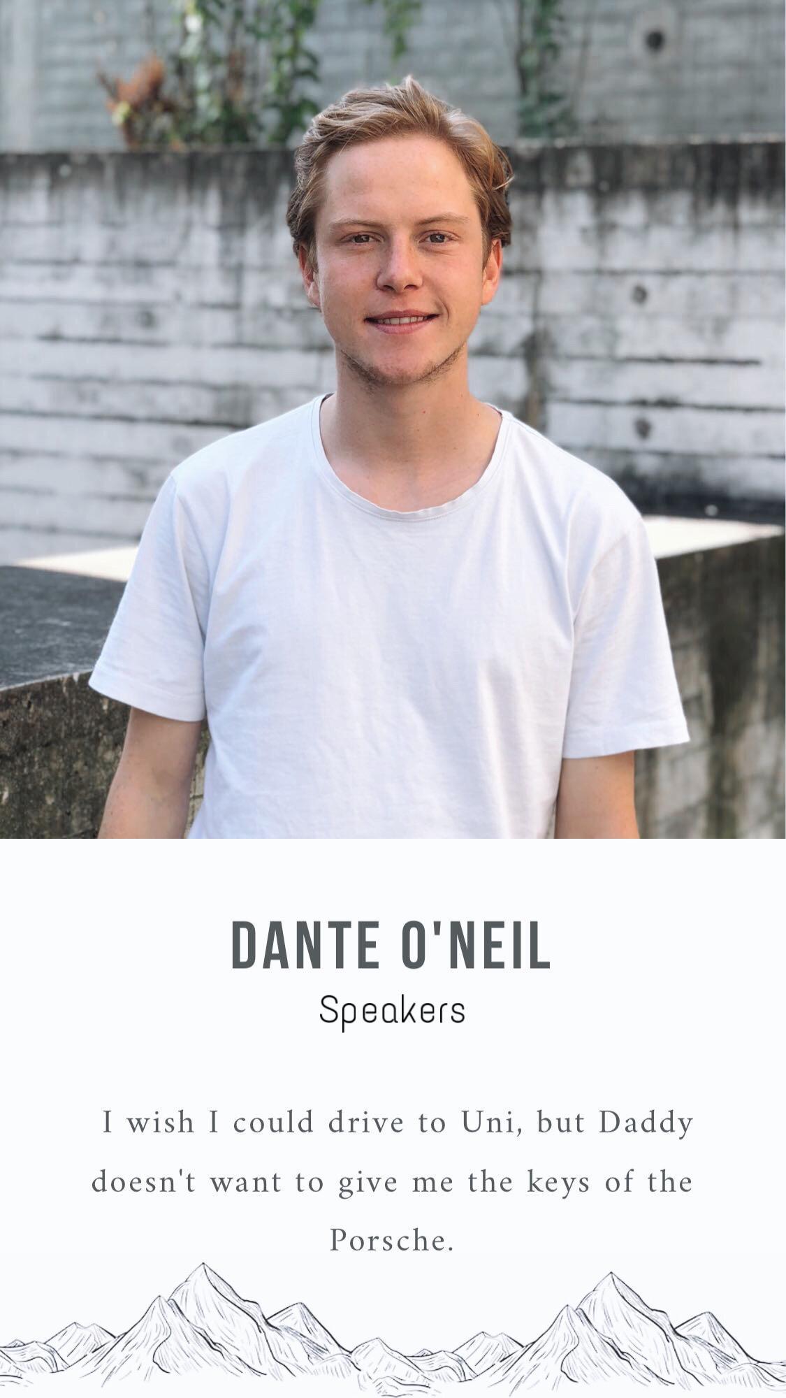 Speakers, Dante oneil.jpg
