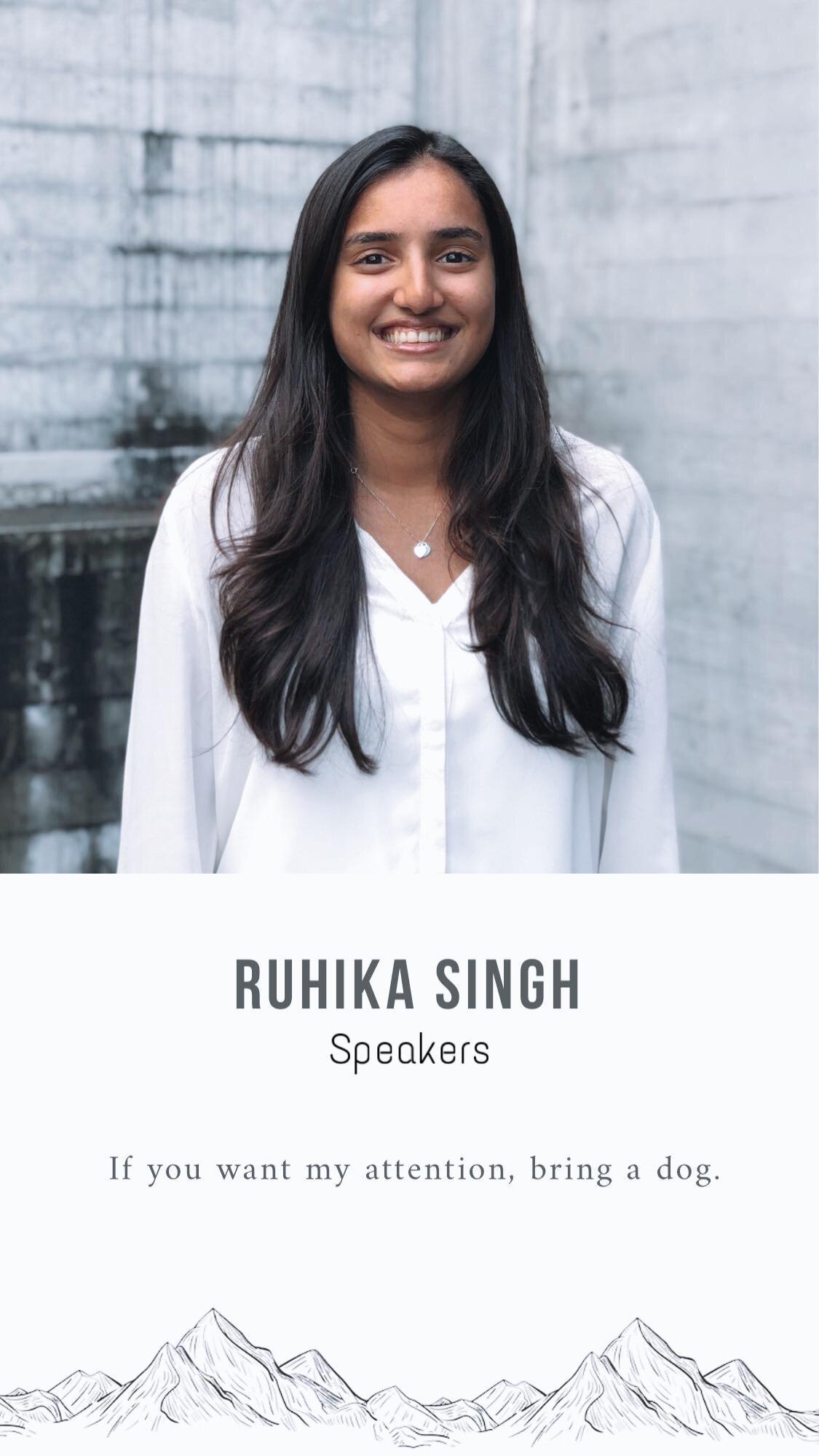 Speakers, Ruhika Singh.jpg