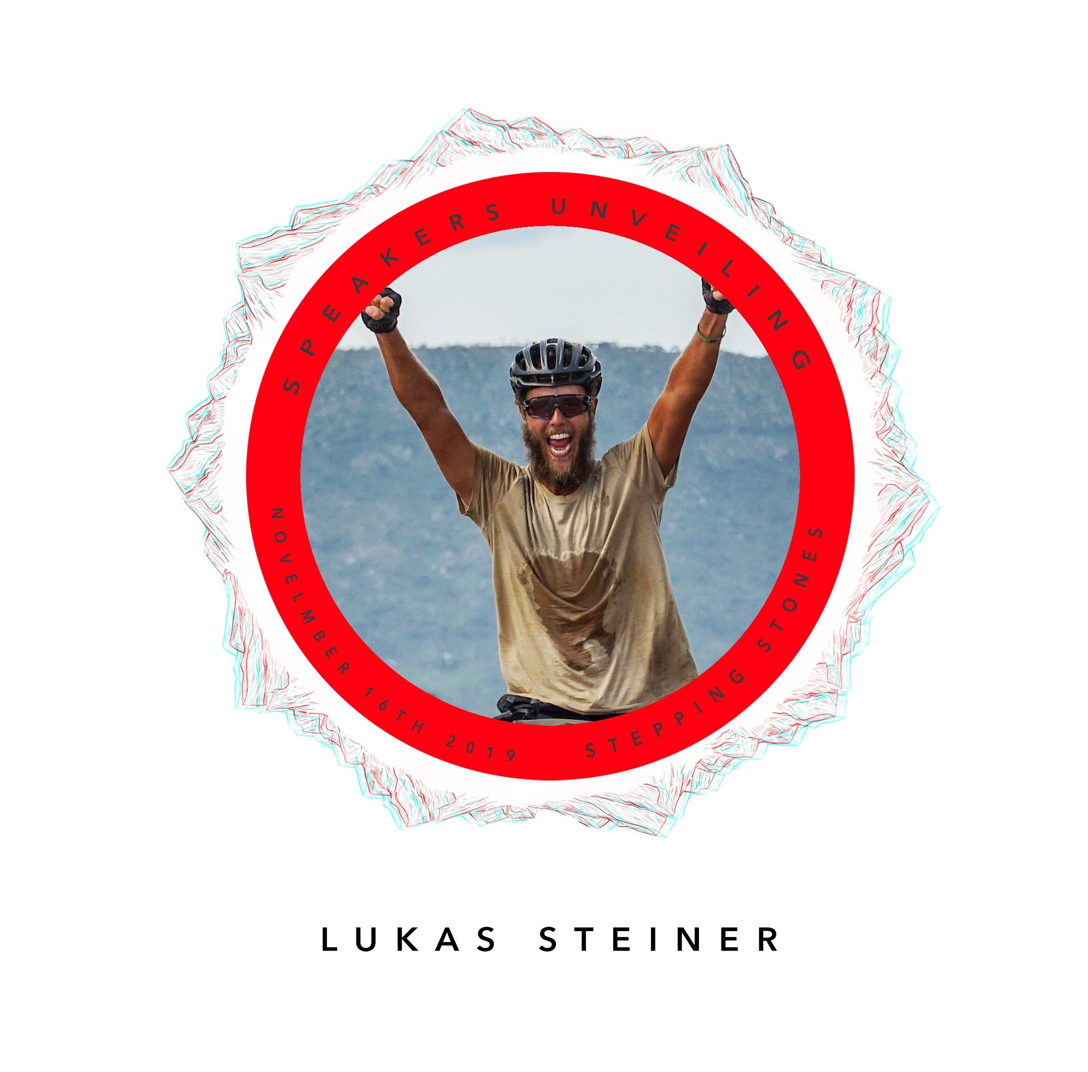 We are very happy to unveil our final speaker, who has won by more than half of the votes: Lukas Steiner!It is through his unique and inspiring adventure, on a bike from Zürich to Cape Town, that he was able to change his perspectives, overcome tough challenges and discover the many treasures the world had to offer. - We would like to thank the 1000+ people who took the time to vote, but also our 3 finalists for sharing their amazing stories with us.