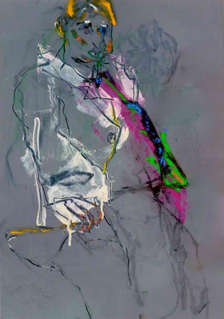 Mes yeux sont en orbite (2014) Collection privée