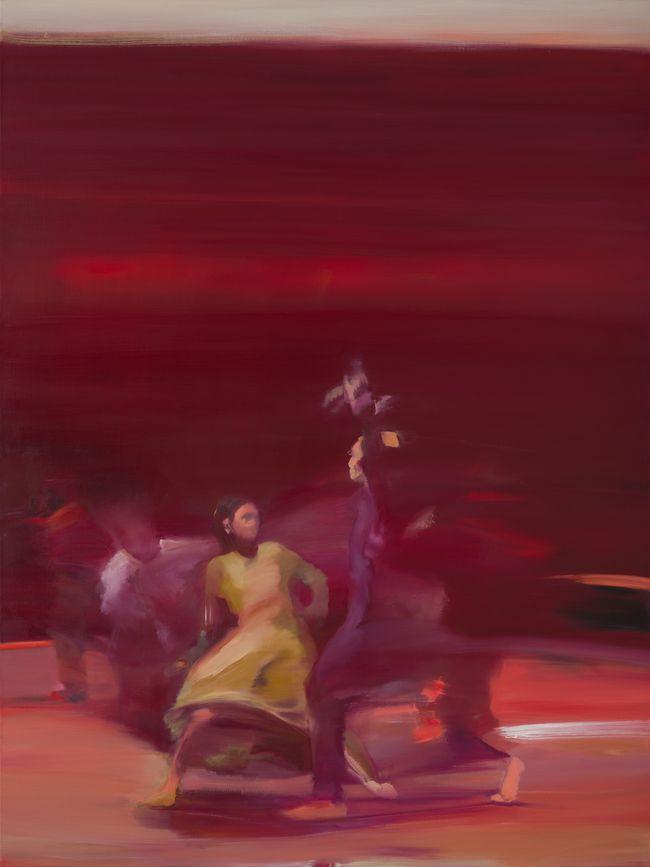 Volte-face huile sur toile 130 x 97 cm