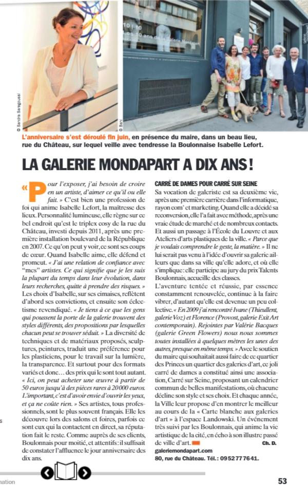 BBI - Article de Christiane Degrain