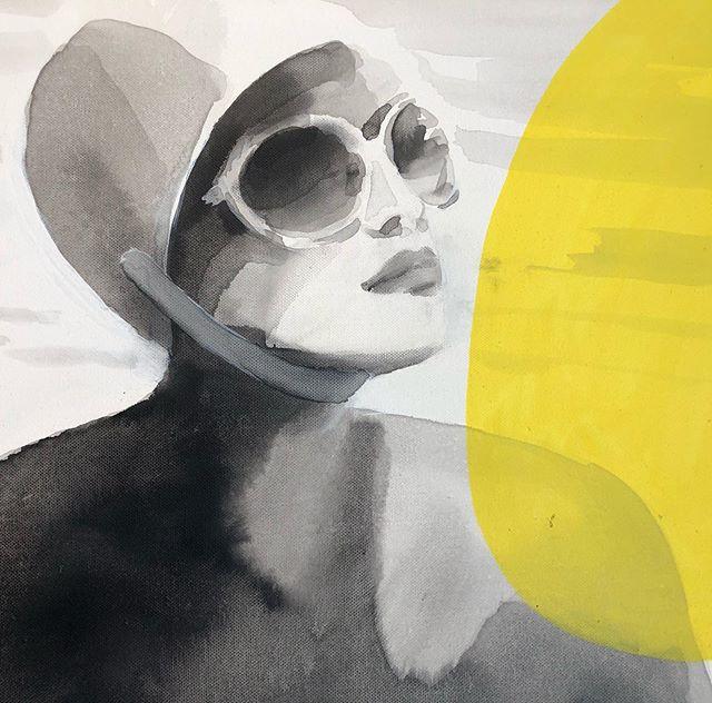 «Plein soleil» de Valérie Bétoulaud a déjà trouvé sa maison ... d'autres magnifiques œuvres vous attendent rendez-vous pour le vernissage de l'exposition ce jeudi 13 juin !  @galeriemondapart #contemporaryart #parisgallery #artcontemporain #galeriemondapart #mondapart #ValerieBétoulaud #MarieRéquillart #xpotobeseen #expoavoir #peinture #painting #sculpture #sculptureenpierre #RG19