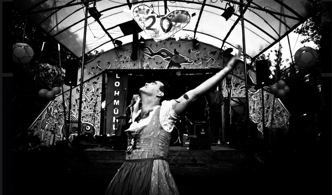 Austrian rock band crossdresser lead artist
