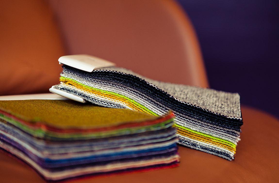 Italian furniture textile company catalogue