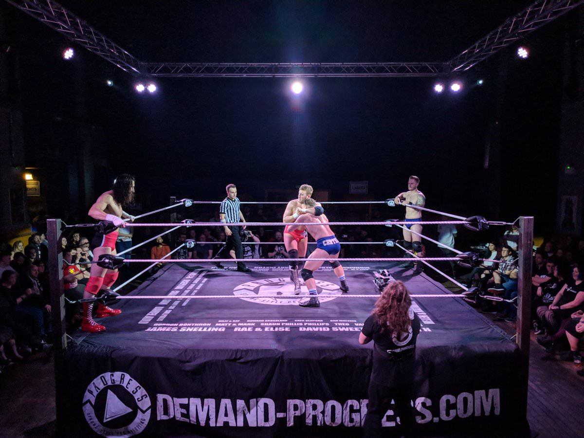 Progress Wrestling - 10/01/2018