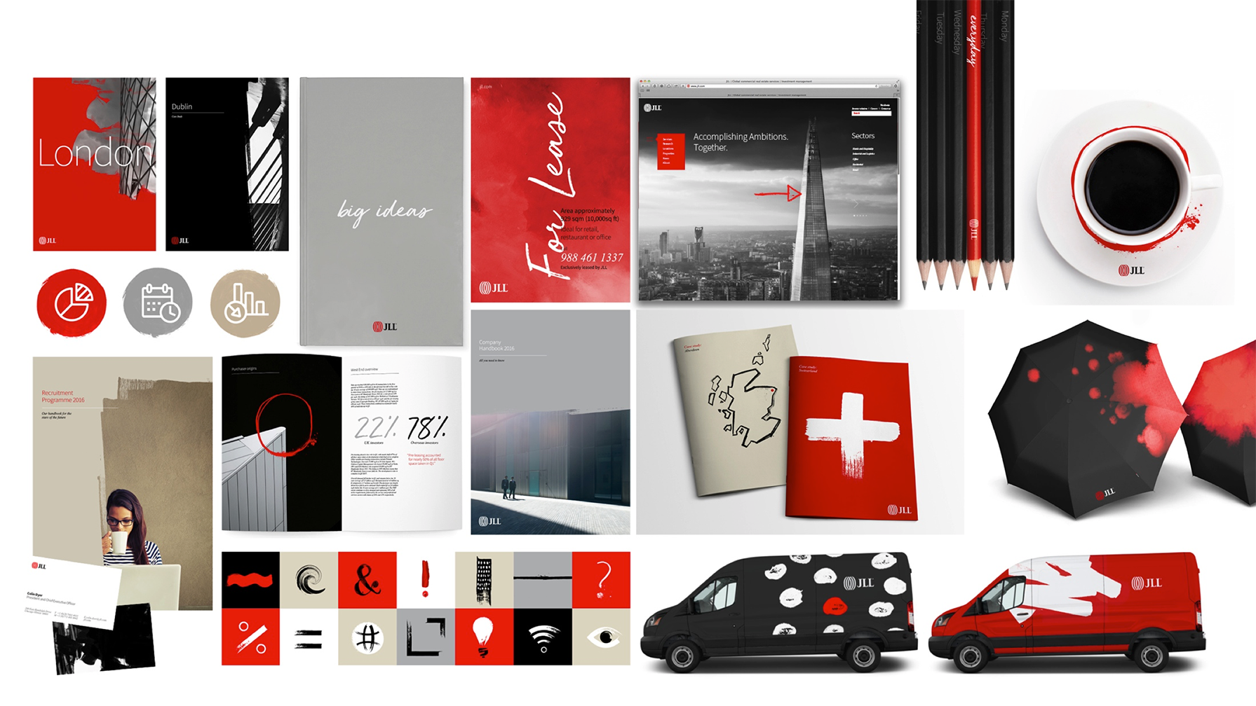 JLL brand collateral overview