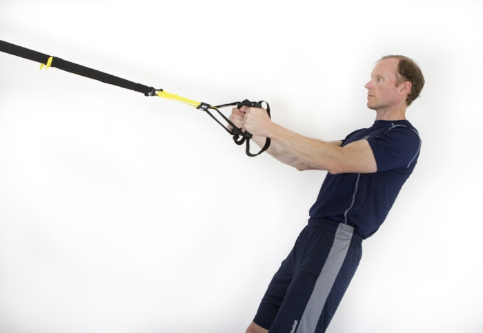 TRX Row start position
