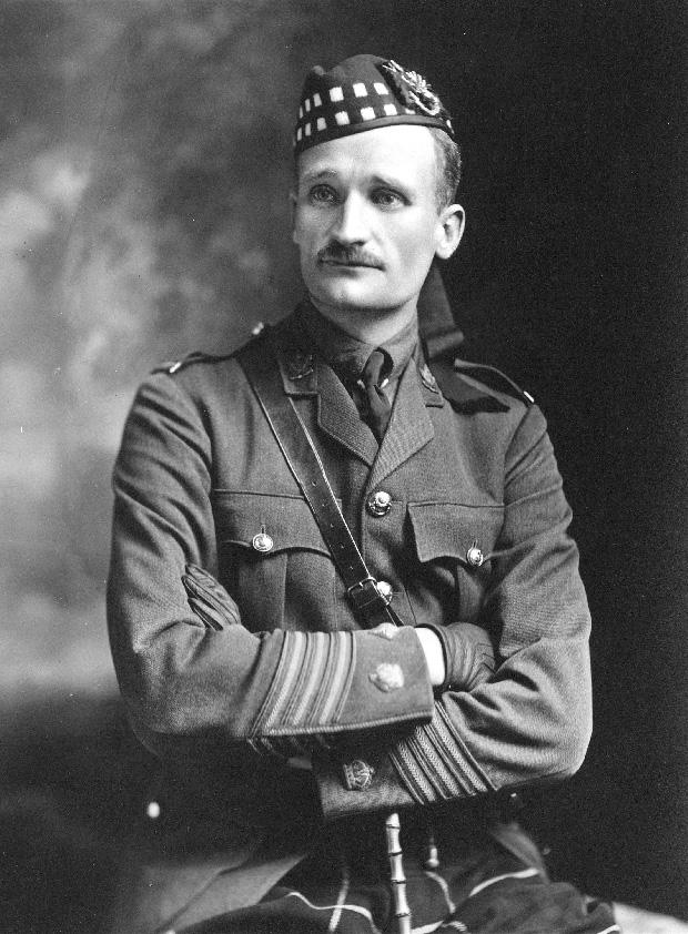 Lieut.-Col. J.A. Clark in 1915. City of Vancouver Archives AM54-S4-: Port P1093