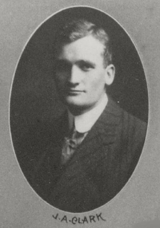 Graduation portrait of J.A. Clark used with permission of Osgoode Hall Law School