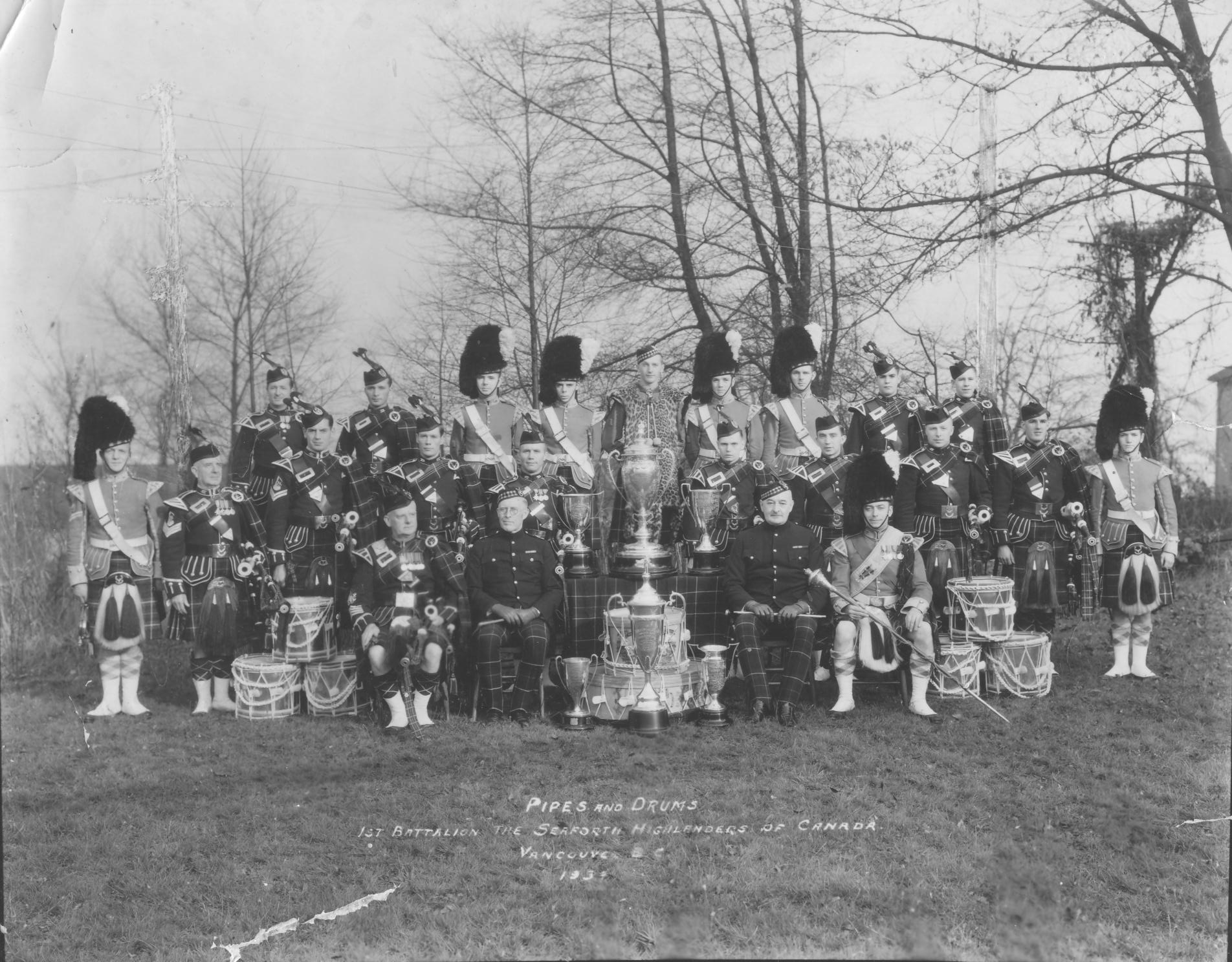 James Robertson - Seaforth Highlanders Pipe Band