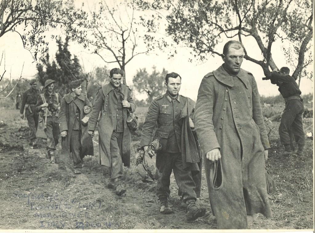 German POWs, Italy 1944