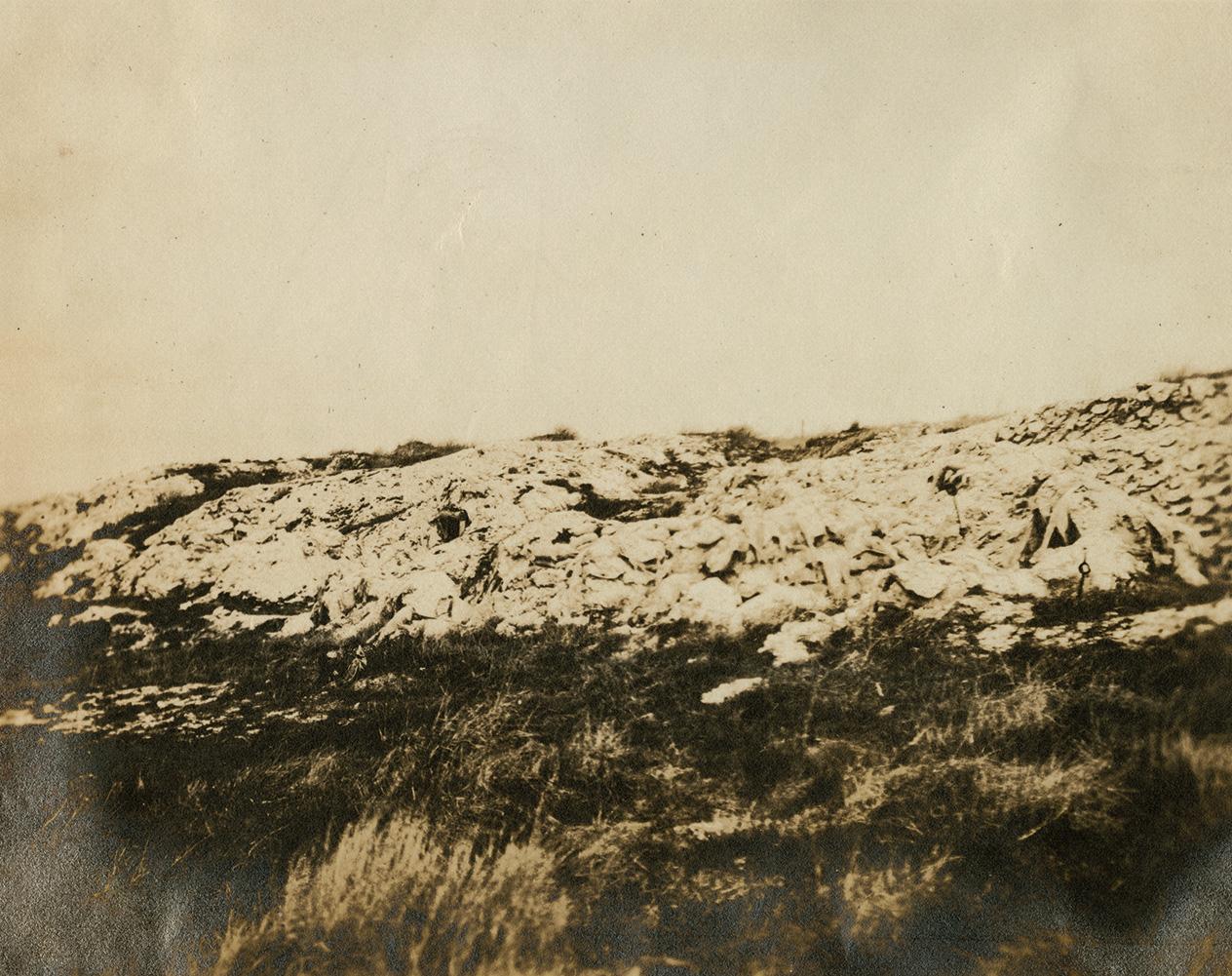 72nd Battalion Headquarters on Vimy Ridge.