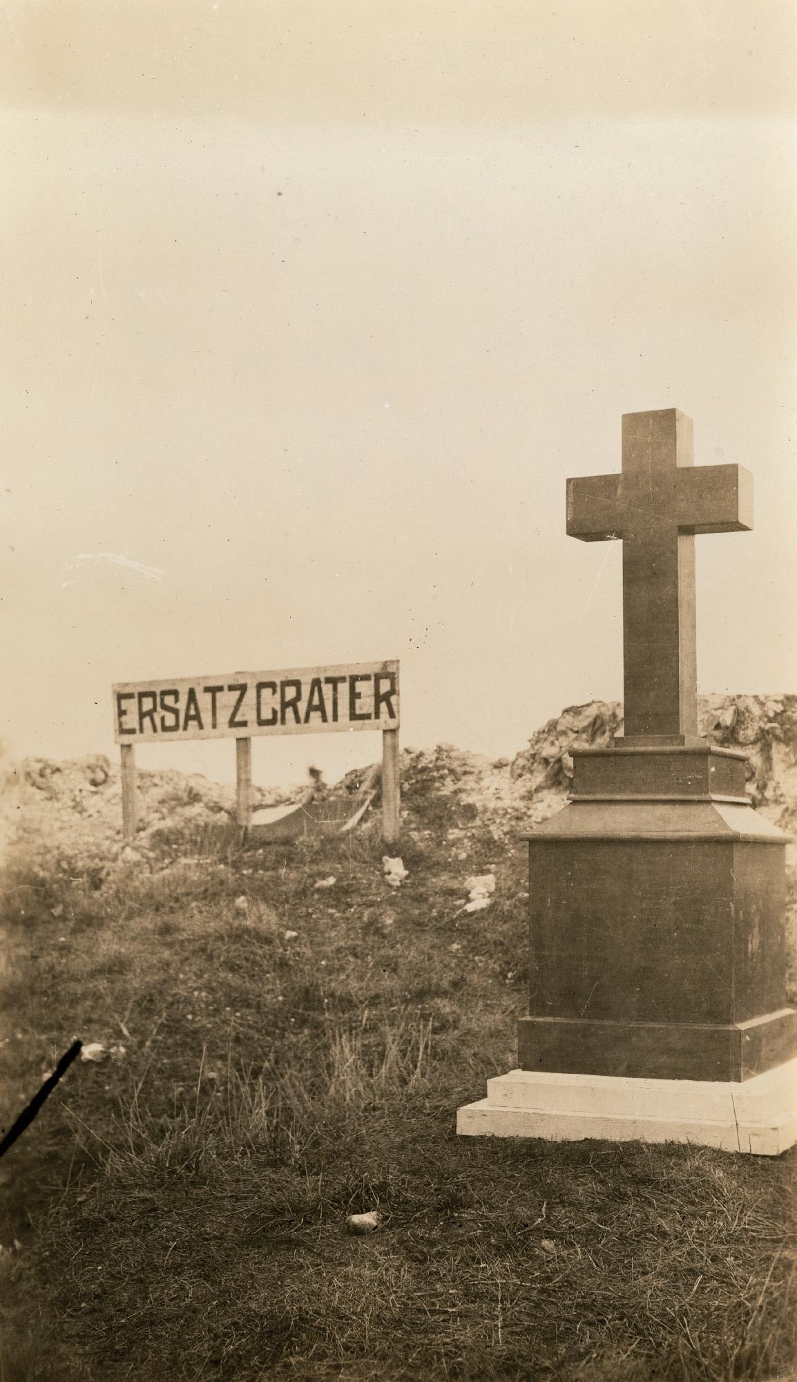 The 72nd memorial on Vimy Ridge.