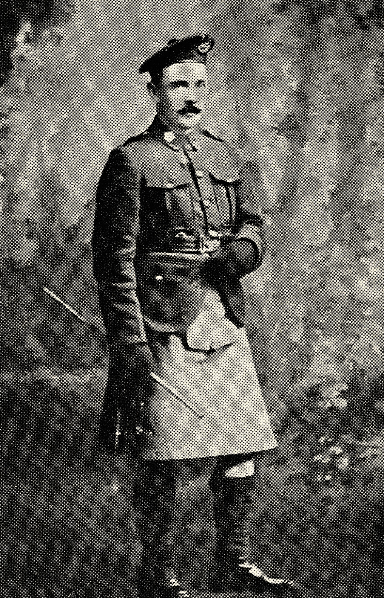 Private Charles Samuel Bannell, one of the Battalion's scouts and the only published poet of the 72nd in the First World War, was killed at Passchendaele on October 30, 1917.