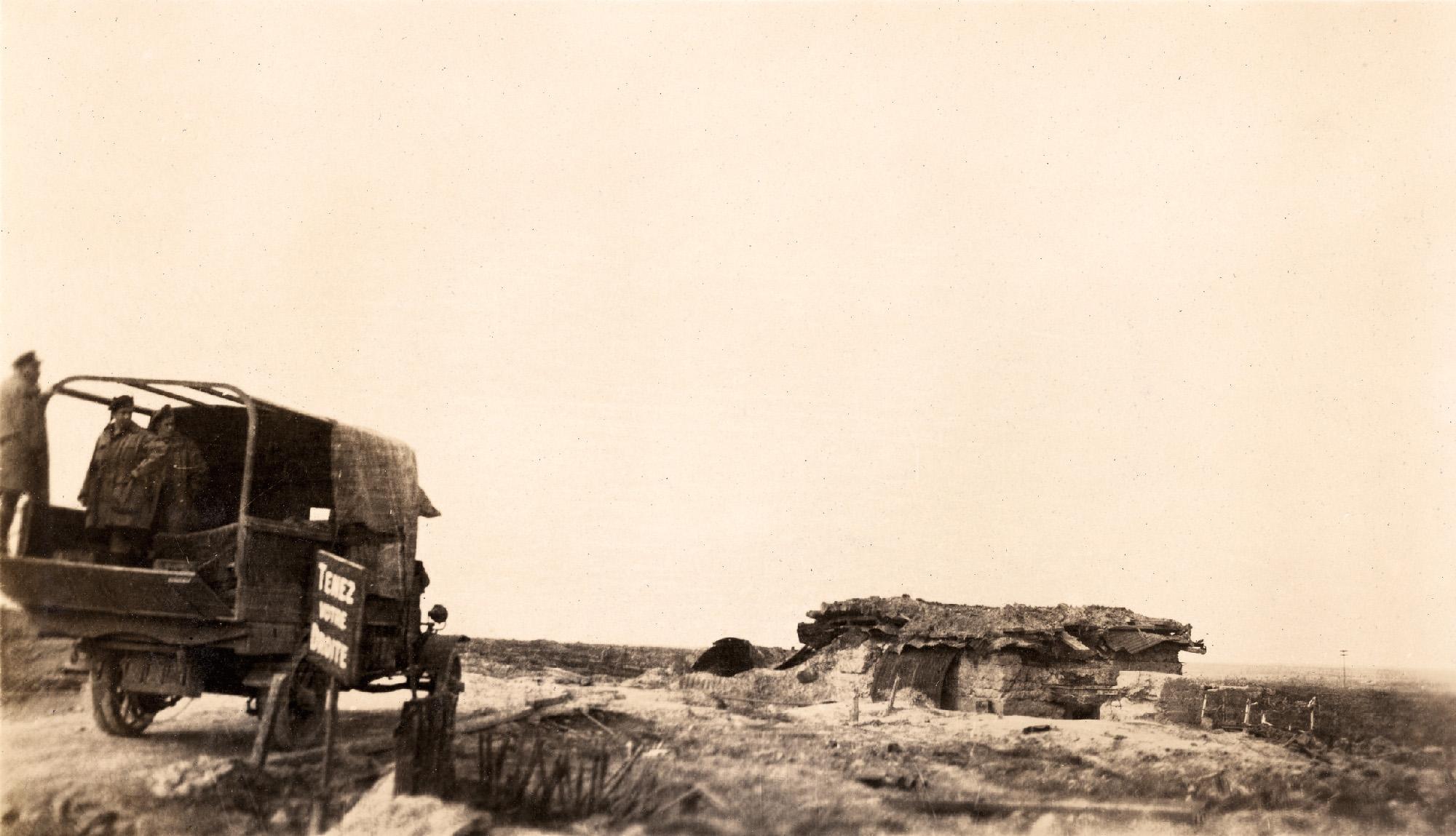 """""""Frost House"""" – a German Pill Box defending Passchendaele."""
