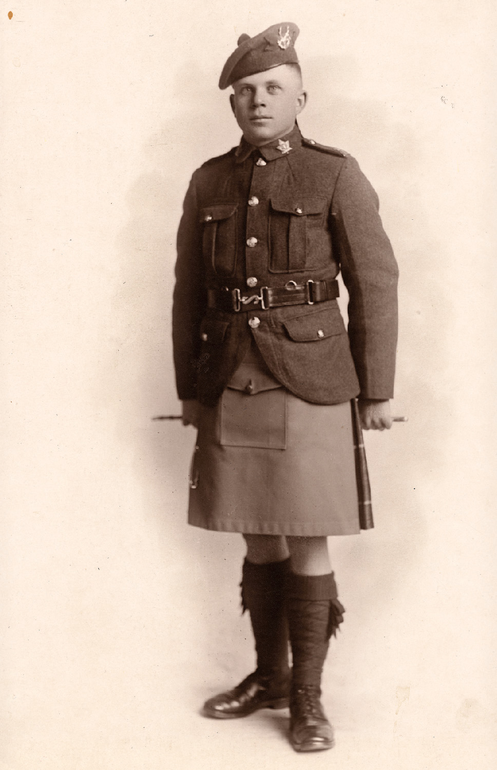 """Private Charles Durfee Harper was wounded as he advanced with 'B' Company toward Crest Farm, and was later buried alive by German shell-fire. The Battle of Passchendaele left him with severe and permanent shell-shock.  A year after the battle, he wrote his father that at Passchendaele, """"hell yawned and we went over the top into what was the greatest concentration of enemy artillery ever known on the Western—or any other—front."""