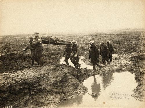 Battle of Passchendaele (Belgium) - 1917