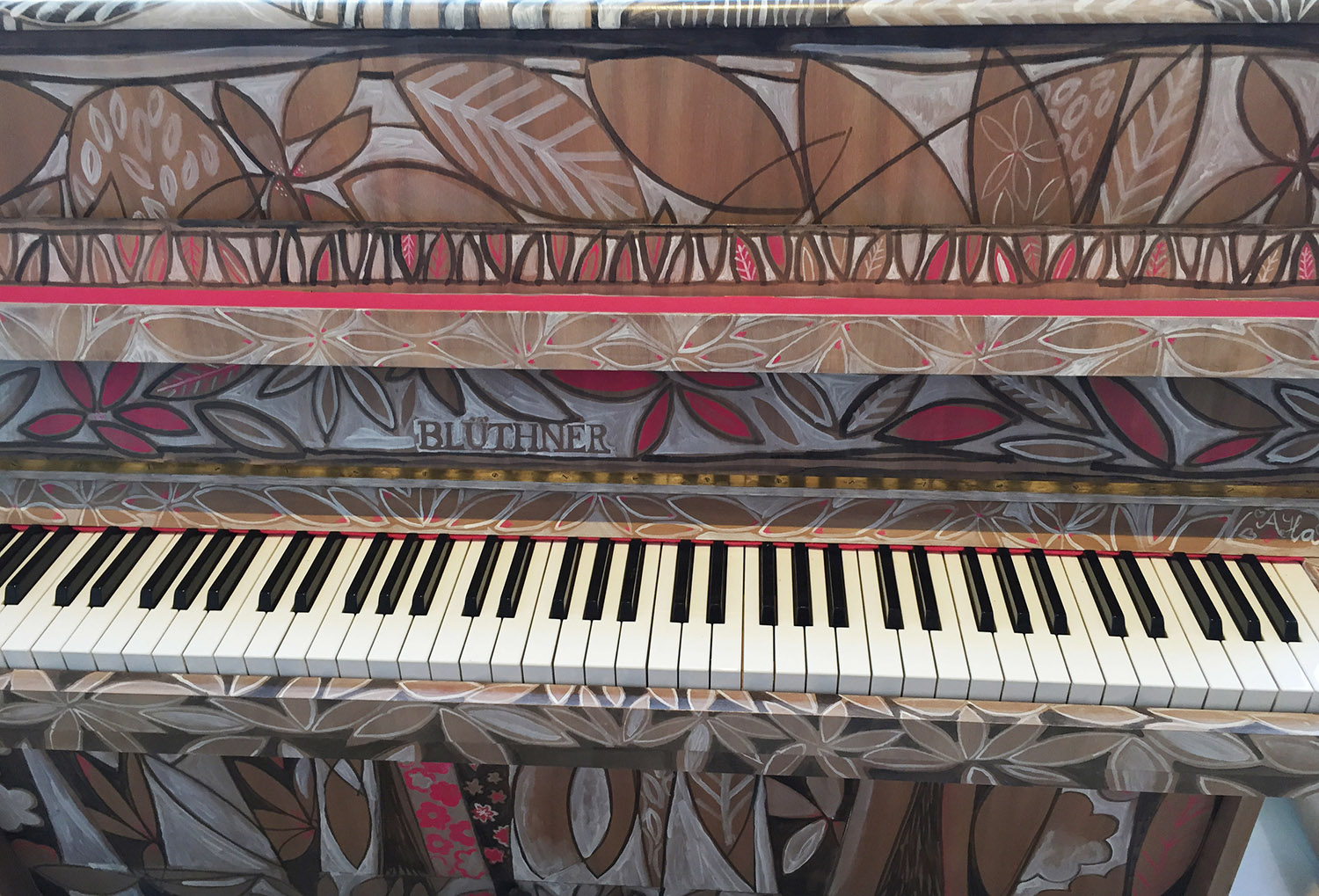 Meadow Song Piano Front
