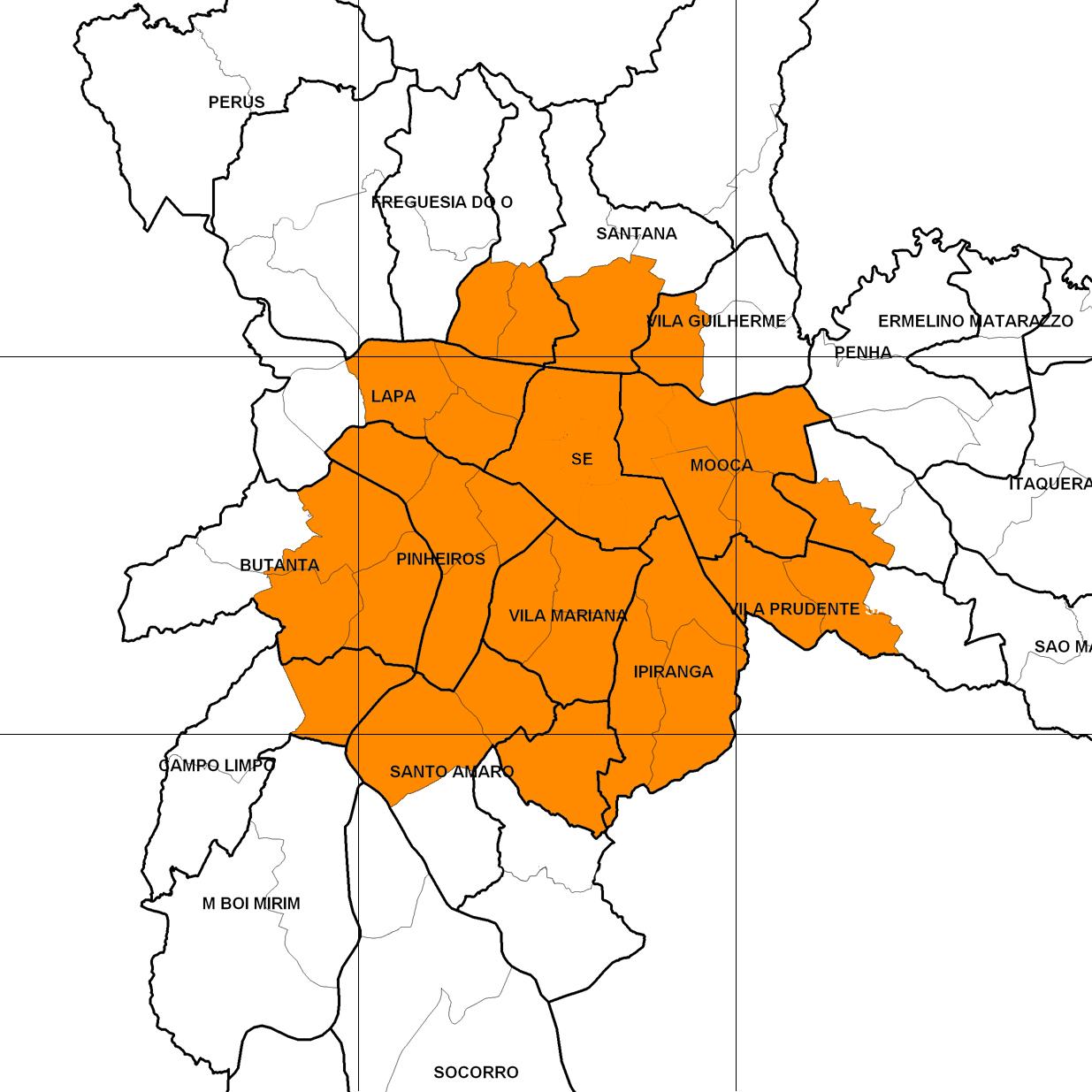 area de cobertura delivery