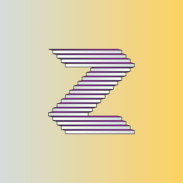 #Z by @michaelbrandley  #36daysoftype #36days_z #typography #type #escher