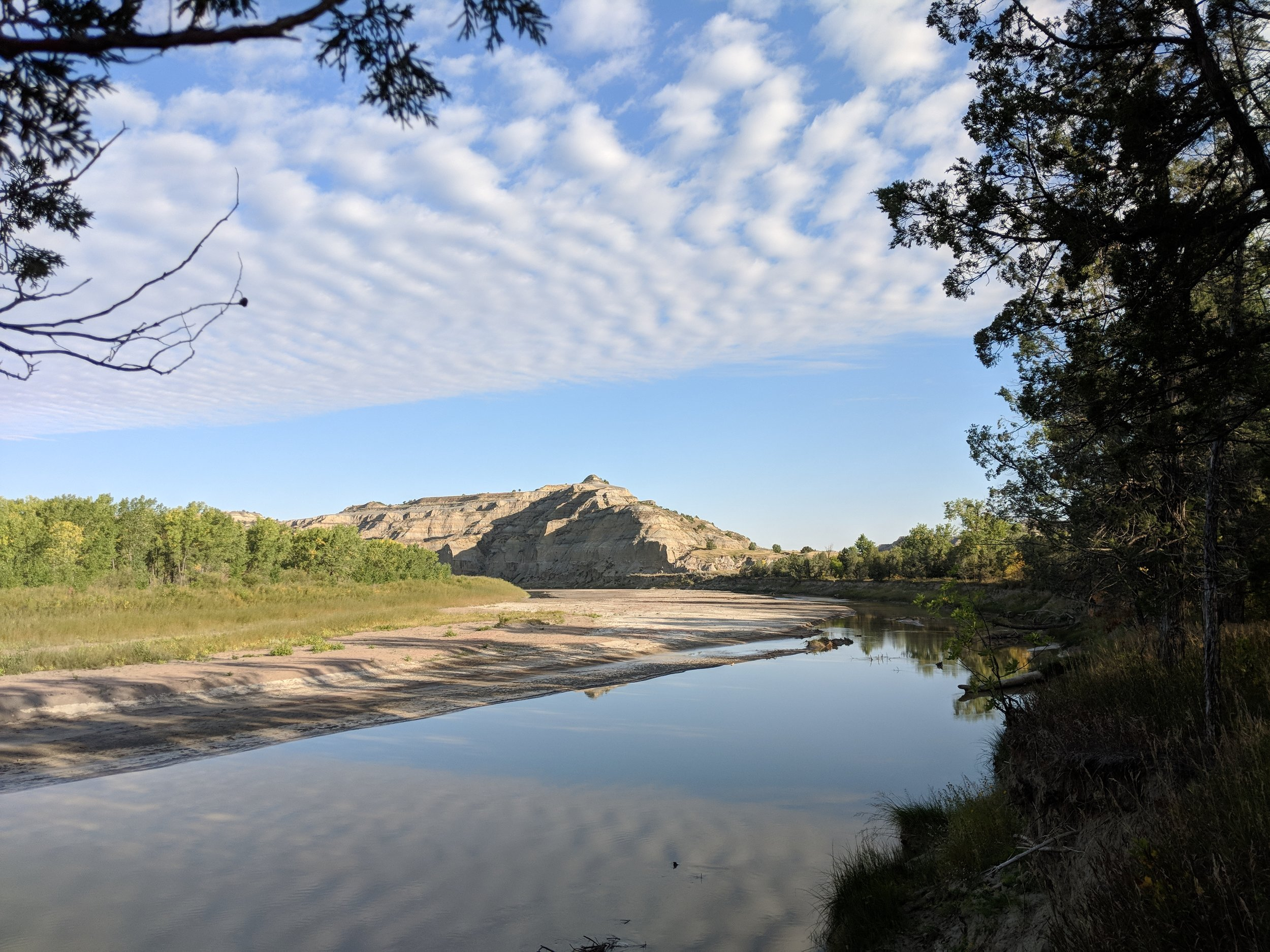 Little Missouri River at Dawn by Lillian Crook