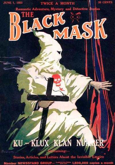 "Black Mask, the ""Klan Issue,"" June 1923"