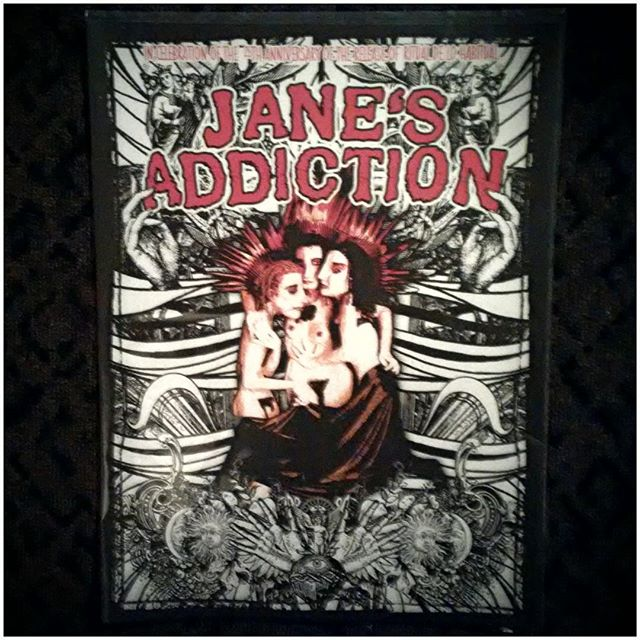 Tour poster-1 of 2 styles. Thank you Janes! I needed that big time! #janesaddictionboston, #silverspoontourboston,
