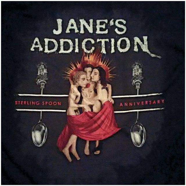 An amazing show with a breeze on the Boston Harbor celebrating the 25th Anniv of the releas of Ritual. #janesaddictionboston, #silverspoontourboston,