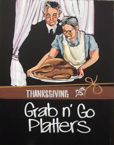 Thanksgiving, Grab n' Go Platters