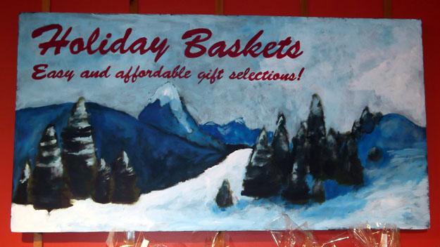 Basket Station Mural