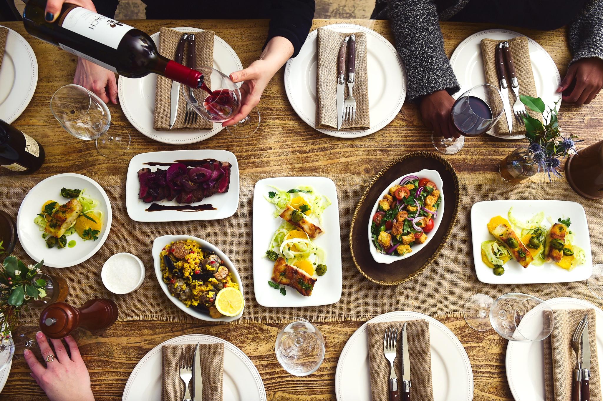 Family Style Dinner