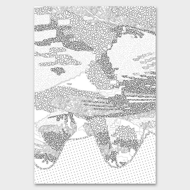 317 Topographie de l'intime #postereveryday _ _ _ #design #adobeillustrator #posterdesign #TDKpeepshow #eyeondesign #art #gfxmob #itsnicethat #montreal #poster #graphicdesign #365 #365project #print #illustration #graphic #typography #letters #etapes #inspiration #risolvemonthly #topography #pattern #graphicdesigner