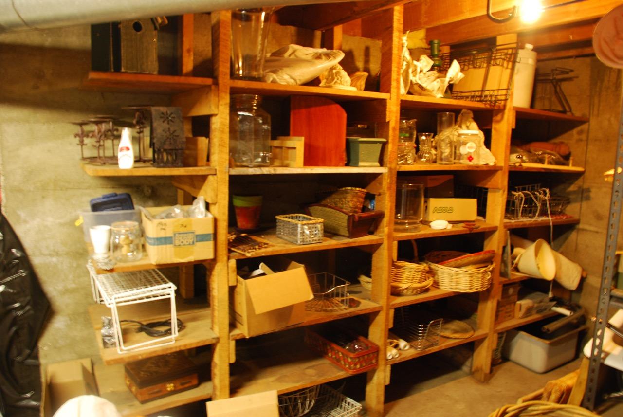 "the basement ""basket store"""