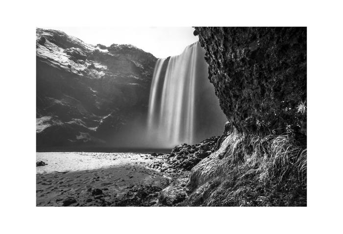 Iceland 19x13 Skógafoss Winter days end.jpg