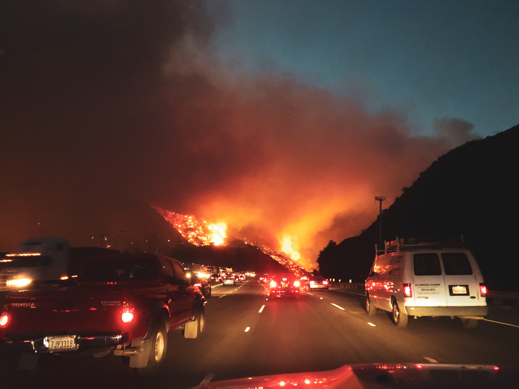 Sepulveda Fire 2017