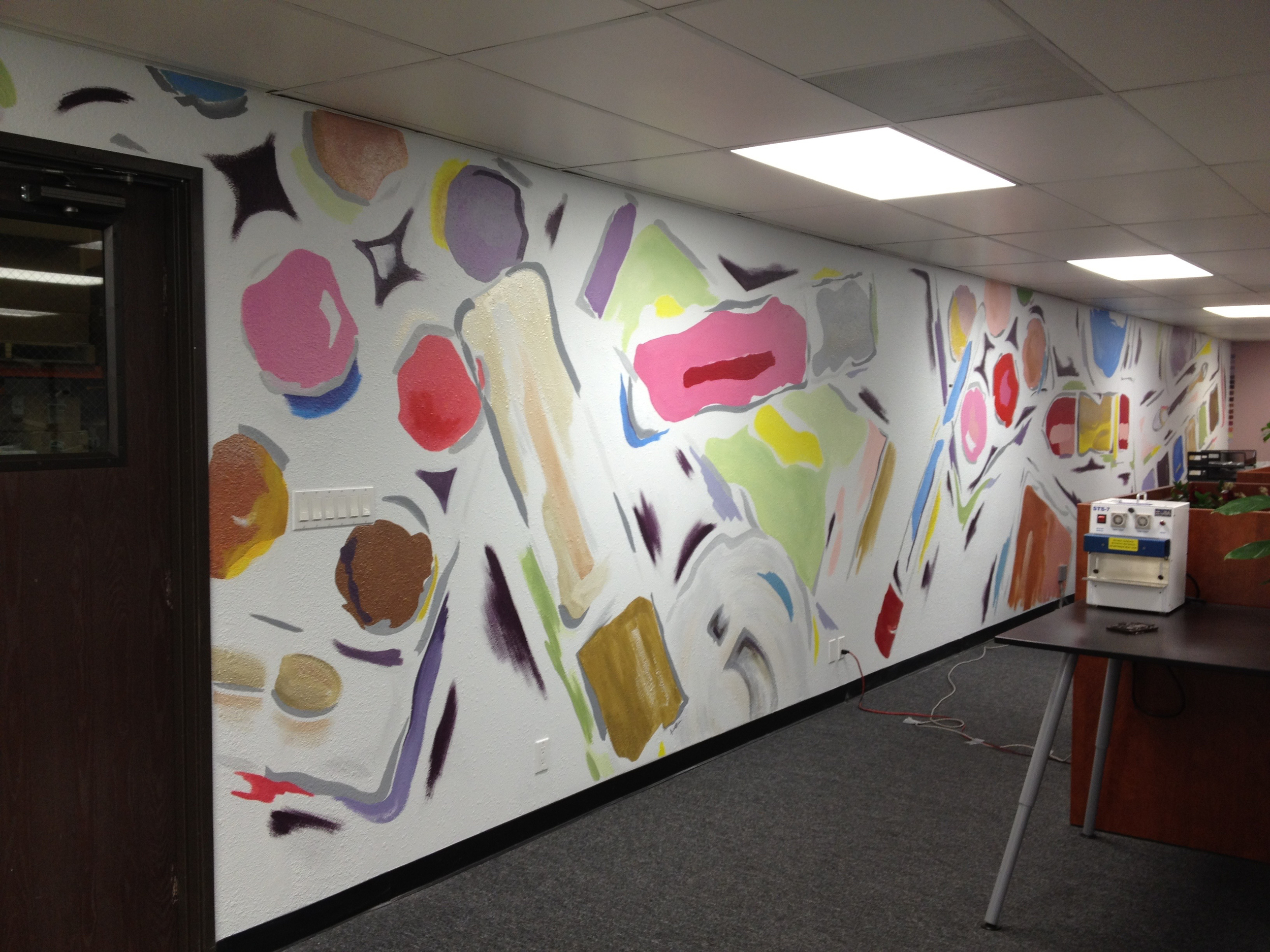 Commercial Mural for Cosmetic Company