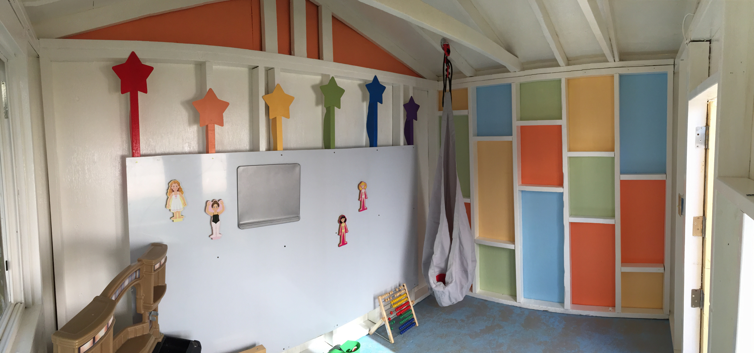 Refurbished Shed to Outdoor Playhouse