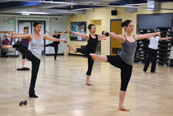 "Jami's ""Cardio Barre"" Fitness Class, Ashland, OR"