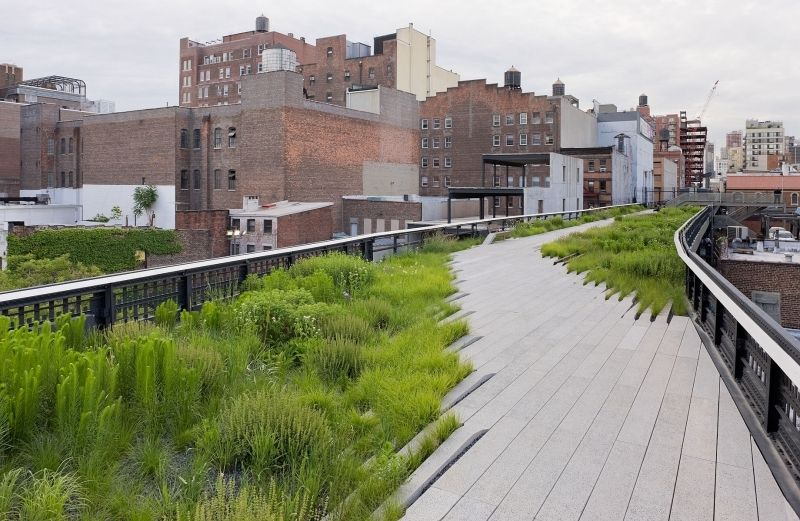 THE HIGH LINE - Photo Courtesy of: NYCGOVPARKS.ORG